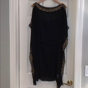 Aidan Mattox size small maternity black dress